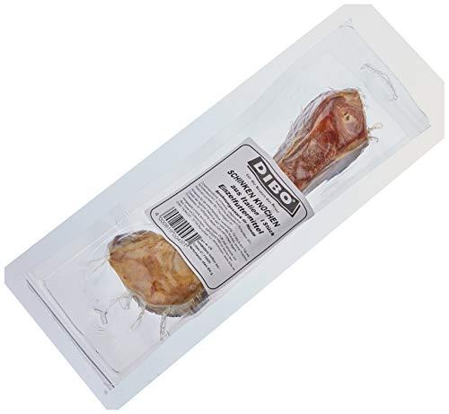 DIBO Schinkenknochen, ca. 23cm langer Knochen - Naturkau-Snack oder Leckerli für Zwischendurch, Hundefutter, Qualitätskauartikel ohne Chemie