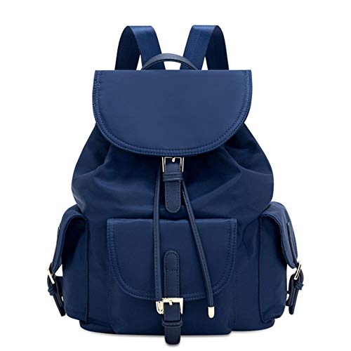 Cllym 12L Oxford Women Backpack Fashion Backpack for Teenager Back To School Back Pack Bags for Women Bag Blue Black Red,Blue