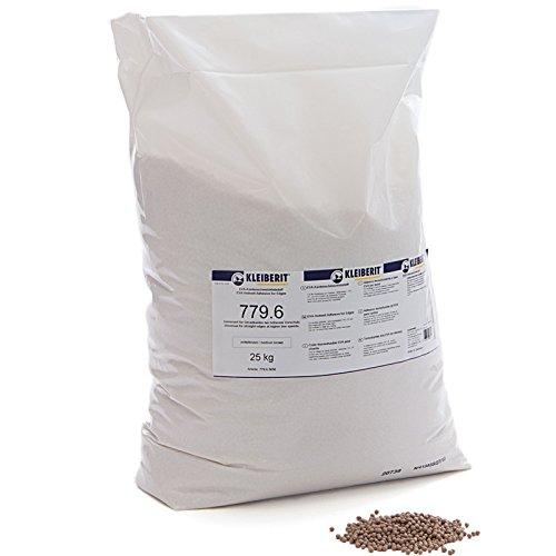 25-kg-Sack braun Schmelzkleber Granulat KLEIBERIT 779.6 Schmelzklebstoff zum Kanten leimen Möbelkanten Umleimer