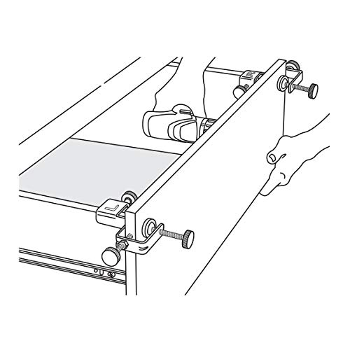 POWERTEC 71181 Drawer Front Installation Clamps | Cabinet Hardware Jig | Drawer Jig For Easy and Fast Drawer Front Panel Installation
