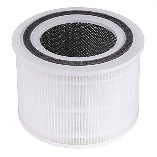 LEVOIT Core 300 Filtro de Repuesto para Purificador de Aire H13, Filtro HEPA 3 en 1, Filtro y Prefiltro de Carbón Activado Altamente Eficiente, Core 300-RF ⭐