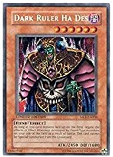 Yu-Gi-Oh! - Dark Ruler Ha Des (MC1-EN006) - Master Collection Volume 1 - Limited Edition - Secret Rare