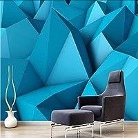 Djskhf カスタムモダン3D写真壁紙3D不織布壁画壁紙シンプル3D幾何学的デザインテレビソファ背景壁家の装飾 360X250Cm