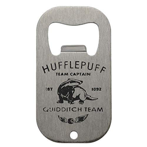 KRISSY Hufflepuff Quidditch Team Flaschenöffner Bottle Opener