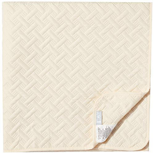 3pc Twin Nina Embossed Quilt Set Ivory - VCNY Home