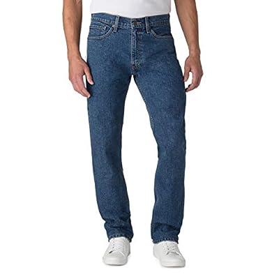 Men's Big & Tall Premium Comfort Carpenter Jeans (Light Wash)
