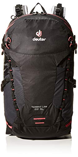 Deuter Women's Speed Lite 22 SL Rucksack, Black, 51 x 27 x 17 cm, 22 L