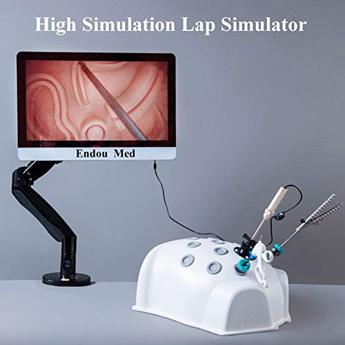 VIEUR Laparoskopische Trainer Box Simulator Laparoskopie Trainer Box Chirurgische Endoskopie Trainer Instrumente Endoskop Zange