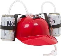 Red Drinker Beer and Soda Guzzler Helmet (Red) by EZ Drinker [並行輸入品]