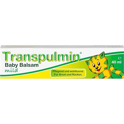 Transpulmin Baby Balsam mild, 40 ml