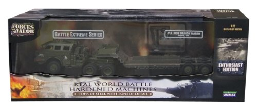 Unimax 432385044 - US M26 Dragon Wagon 1:72