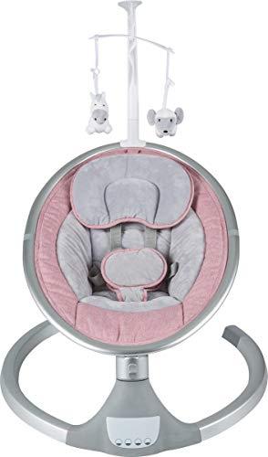 Born Lucky Dreamy Pink Elektrische Babyschaukel Babywiege Bluetooth USB Musik
