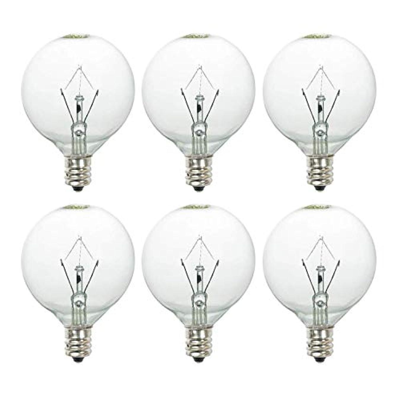25 Watt Wax Melt Warmer Light Bulb for Full-Size Scentsy Warmers & Candle Wax Melt Warmer,6 Pack Scentsy Warmer Bulbs,Extra Long Life