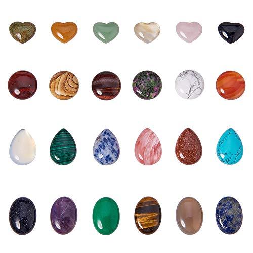 Deutsches Mineralienmuseum Ensemble de 56 pierres pr/écieuses