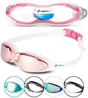 cb8a9965ed i-Sports Pro Swimming Goggles – Adult and Kids Sizes - No Leaking