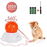 OLEY Interactive Cat Toy - Moving Laser Ball Interactive Toys for...
