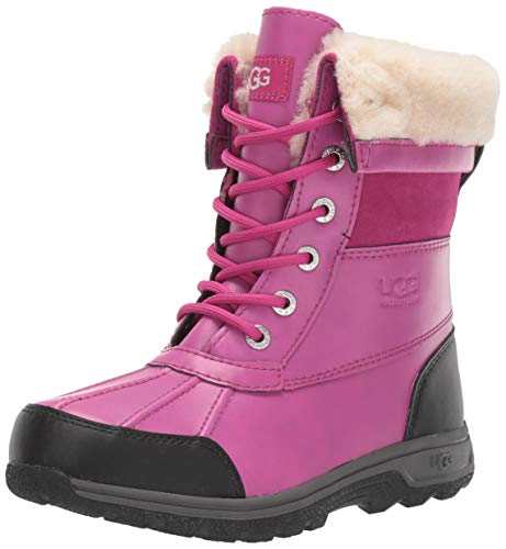 UGG Kid's Female Butte II CWR Boot, Fuchsia, 3 (UK),36(EU)