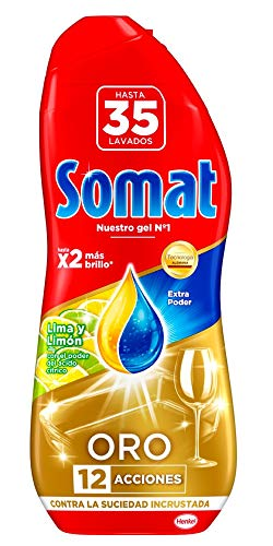 Somat Oro Gel Multifunction Lavavajillas Lima Limón