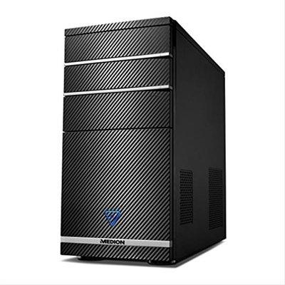 MEDION M11 - Ordenador de sobremesa (Intel Core_i3 3.7 GHz, nVidia GeForce GT720, disco duro de 1 TB, 8 GB de RAM) negro
