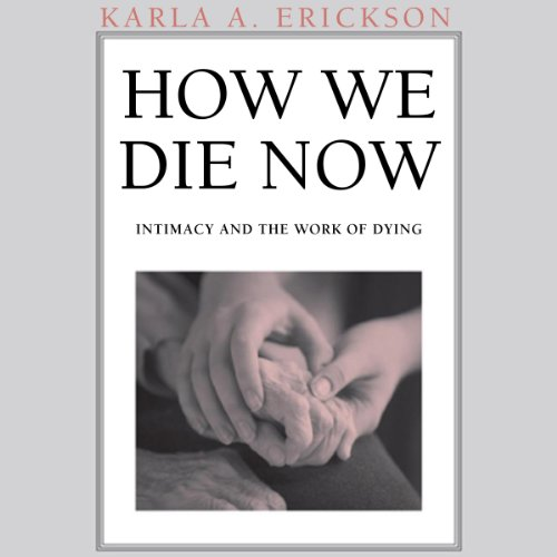 How We Die Now audiobook cover art