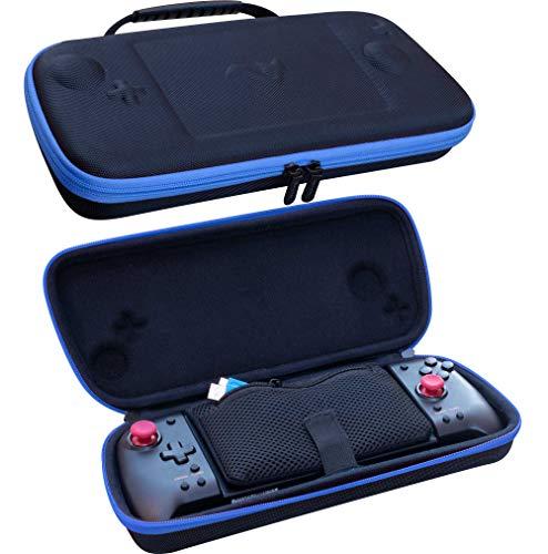ButterFox Grip Carry Case for Hori Nintendo Switch Split Pad Pro Controller and ButterFox Dockable Grip- Blue/Black