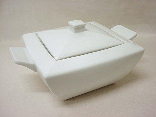 SOPERA DE VAJILLA Cuadrada 2800ML Porcelana Blanco