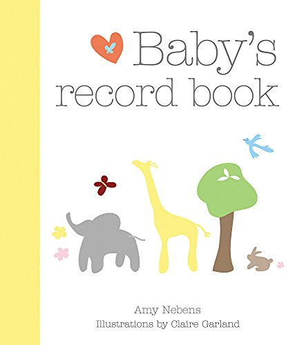 Baby's Record Book (Baby Record Book)