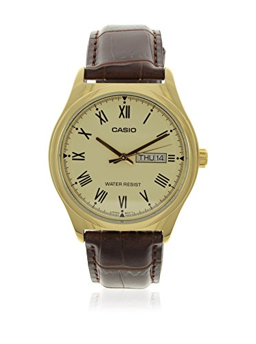 Casio Reloj con Movimiento Cuarzo japonés Man Mtp-V006Gl-9B 38.0 mm