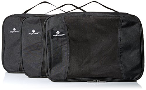 Eagle Creek Pack-It Full Cube Packing Set, Black, Set of 3