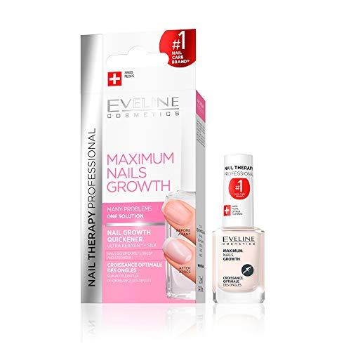 Eveline Cosmetics - Acelerador máximo del crecimiento de las uñas, 12 ml