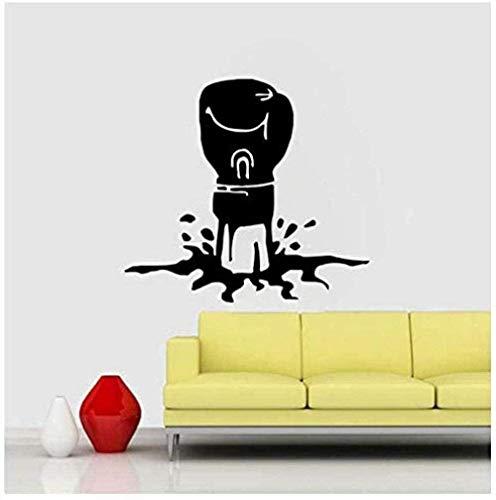 Boxhandschuhe Kreative Poster Wandtattoo Wohnkultur Wohnzimmer Schlafzimmer Wandbild Abnehmbare Vinyl 48 * 53 Cm