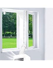 Trimming Shop Window Seal voor draagbare Air Conditioner Eenheden, Mobiele Airco Air-lock voor raam en droger Hot Air Stop Seal (wit)