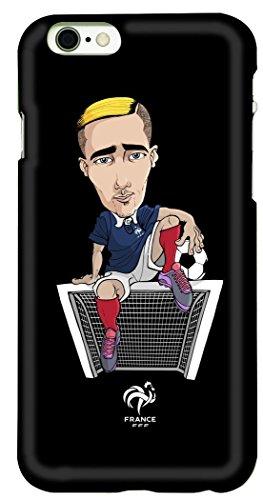 FFF beschermhoes voor iPhone 6, motief: Antoine Griezmann - officiële collectie van het Franse voetbalteam