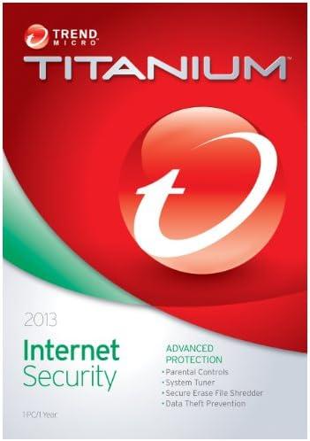 Trend Micro Titanium Internet Security 2013 1User Old Version product image