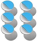 Set de imanes para detectores de humo y superficies planas (6 unidades, no utilizar sobre gotelé o enlucidos) by DURSHANI