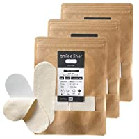 アミーライナー 使い捨て布ナプキン おりものシート テープ付き 綿100% ネル生地 日本製 96枚(32枚×3)