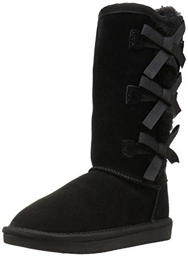Koolaburra by UGG Kid's Victoria Tall Classic Boot, Black, 35 EU