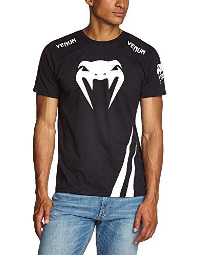 Venum Erwachsene T-Shirt Challenger, Black/Ice, XL