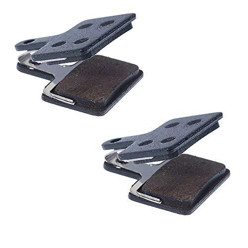 BODYART 2 pares de almohadillas de resina reemplazables de alto rendimiento para Shimano DEORE M446 M515 M525 M445