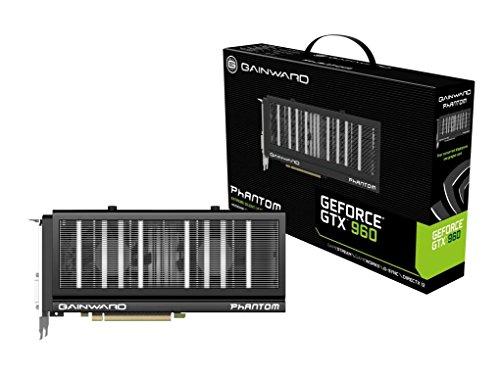 Gainward 426018336-3422 GTX 960 Phantom Grafikkarte Nvidia (PCI-e, 4GB GDDR5 Speicher, DVI, HDMI, DisplayPort, 1 GPU)