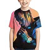 Travis Scott T Shirts Kids Youth Crewneck Fashion 3D Print Short Sleeve Tee for Boys and Girls