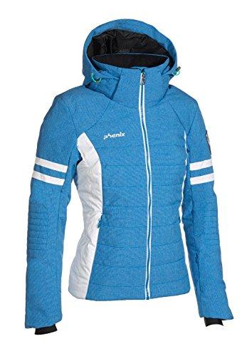 Phenix Damen Powder Snow Jacket Skijacke, Blue, 34