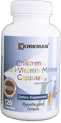 Kirkman Labs, Children's Multi-Vitamin/Mineral, Hypoallergenic Formula, 120 Capsules