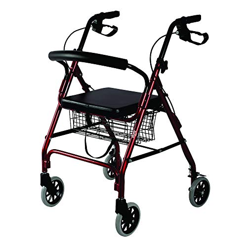 Vissco Dura Rollator with Seat and Basket - 2924