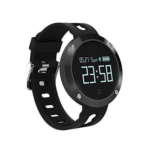 SHRAY Reloj Deportivo, rastreador de Ejercicios, Monitor de Ritmo cardíaco y sueño Smartwatch con Pantalla a Color, podómetro Impermeable y Contador de calorías para Android iOS