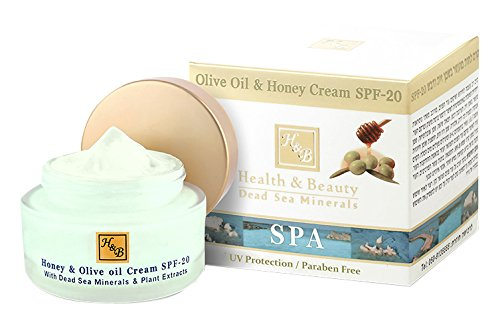 H&B Dead Sea Olive Oil & Honey Cream SPF-20 by HealthBeauty