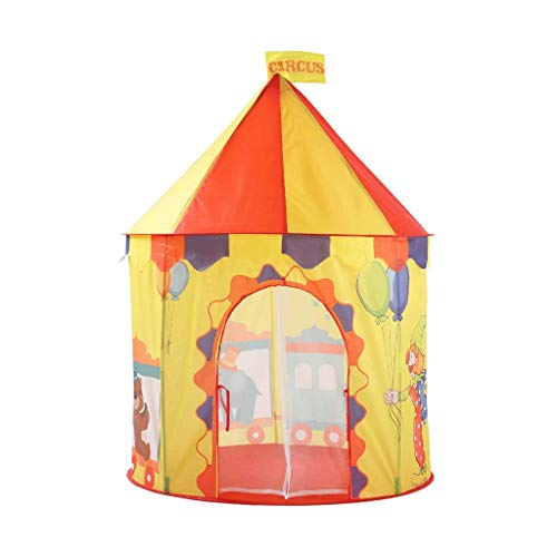 YDHWY Playhouse for Kids Tent, Princess Castle Playhouse for 1-8 Year Old Children Toddlers Boys Girls Baby Infant Indoor Outdoor Gifts Toys