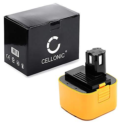 CELLONIC® Akku 12V, 3Ah, NiMH kompatibel mit Panasonic EY6407,EY409, EY3502, EY3550, EY6100, EY6205 Ersatzakku EY9101,9001,EY9006,EY9106,EY9200,EY9200B Batterie Werkzeugakku