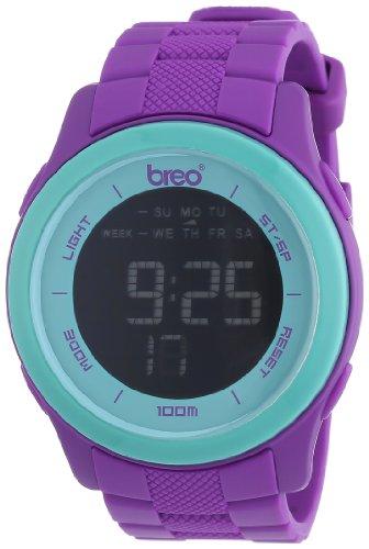 Breo B-TI-ORX214 - Reloj Digital Unisex con Correa de plástico, Color Multicolor