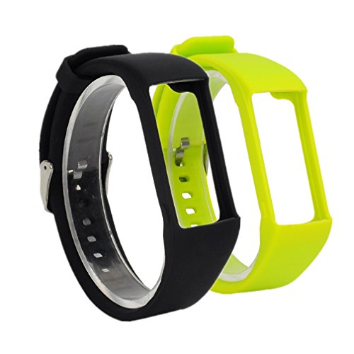 Meiruo Silikon Armband für Polar A360, Ersatzarmband für Polar A360(Colour 4)